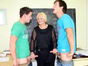 Hot sex with her students